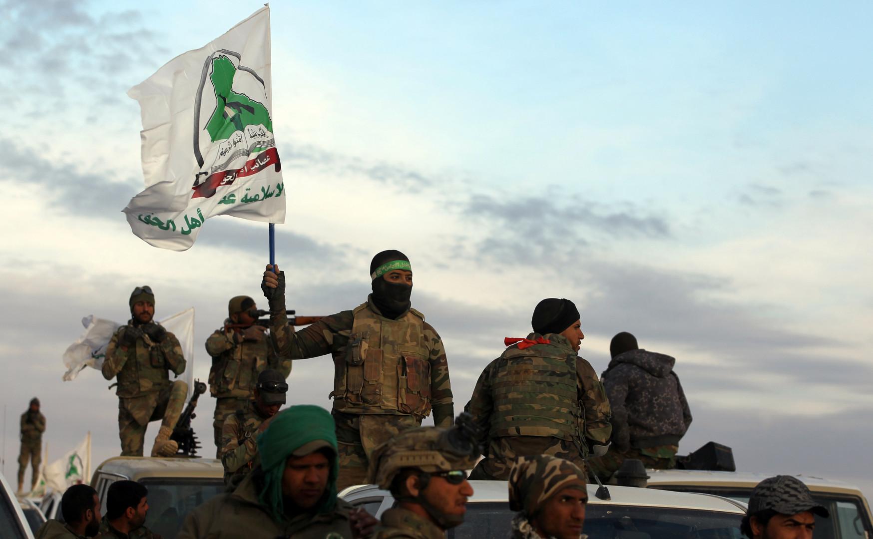 U.S. sanctions Kata'ib Hezbollah and Asa'ib Ahl al-Haq.. Hezbollah responded