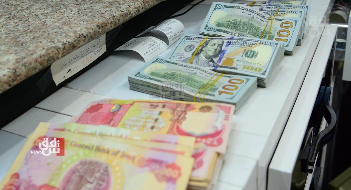 الدولار يتراجع أمام الدينار في بغداد وإقليم كوردستان