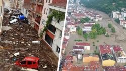 Massive floods hit Turkey's the Black Sea region