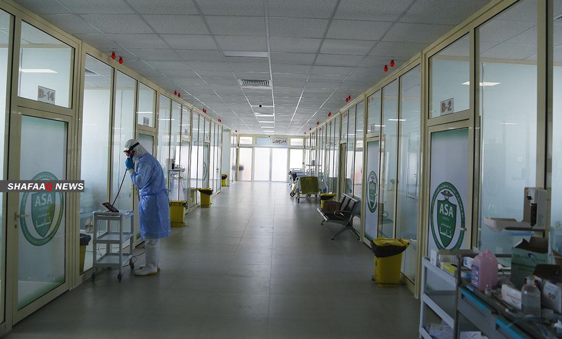 كوردستان تسجل وفاة 17 مريضاً بكورونا وأكثر من 1500 إصابة جديدة