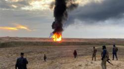 تفجير بئر نفط بواسطة عبوة ناسفة في كركوك