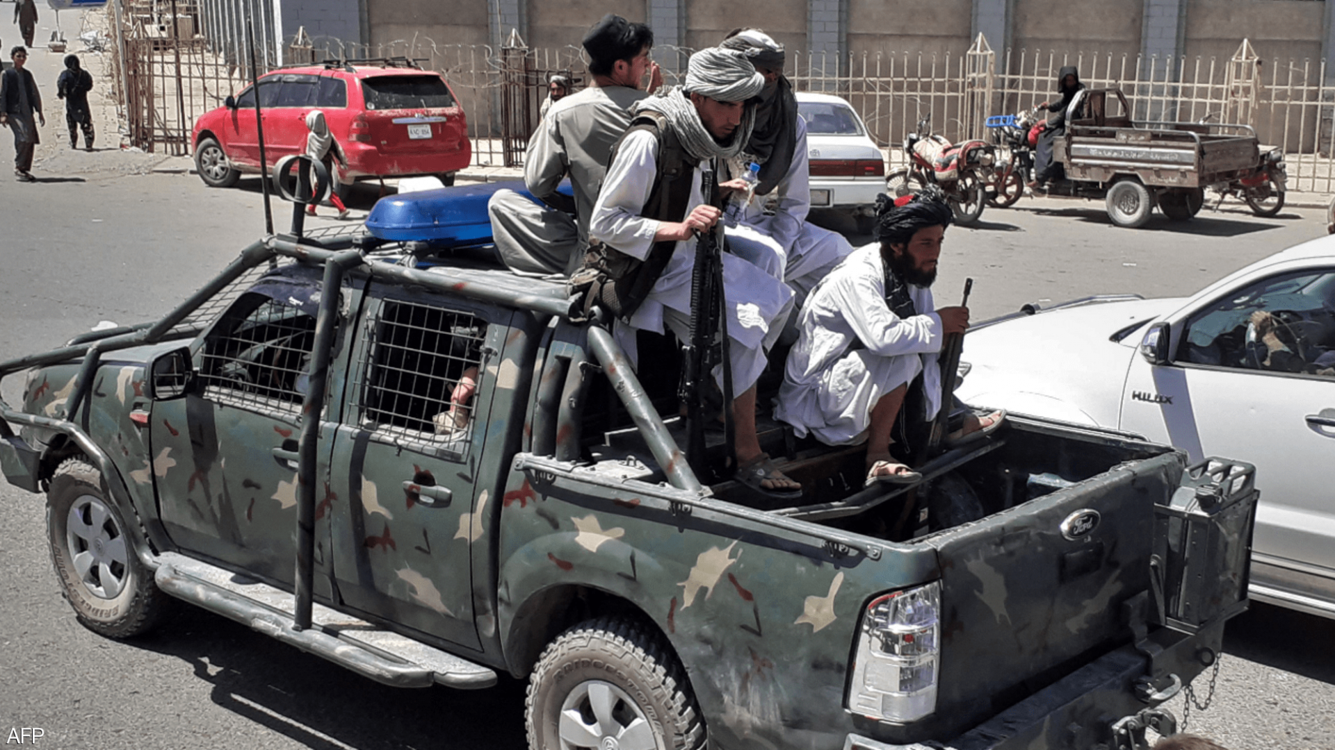 After the president fled the Taliban orders its fighters to enter Kabul