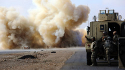 An explosion targets a convoy of the Global Coalition Baghdad