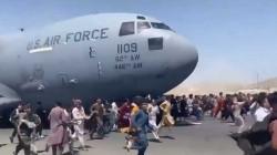 """العثور على """"بقايا بشرية"""" بعجلة الطائرة العسكرية القادمة من كابل"""