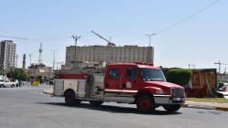 الدفاع المدني يستنفر لإخماد حريق اندلع في مستشفى أهلي وسط بغداد