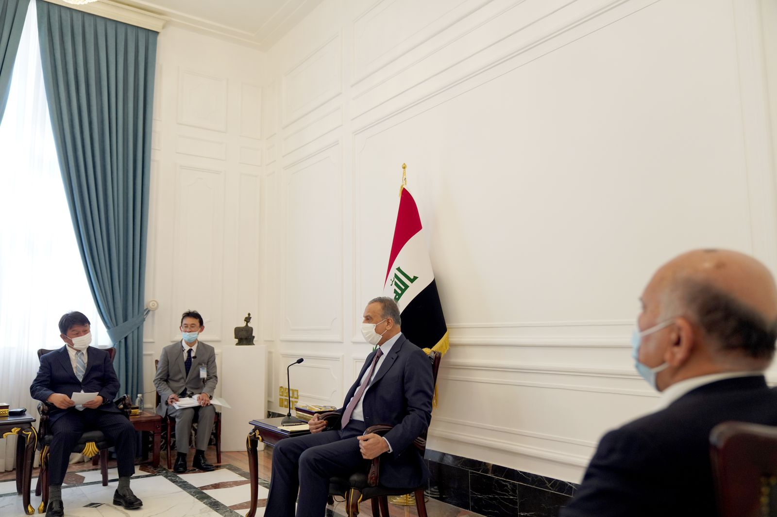 Japan announces its support for Al-Kazemis white paper and attends the Baghdad conference as an observer