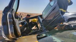 """مصرع وإصابة 4 أشخاص بحادث على """"طريق الموت"""" في ديالى"""