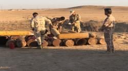 Joint forces arrest a terrorist, seize equipment in Al-Anbar and Kirkuk