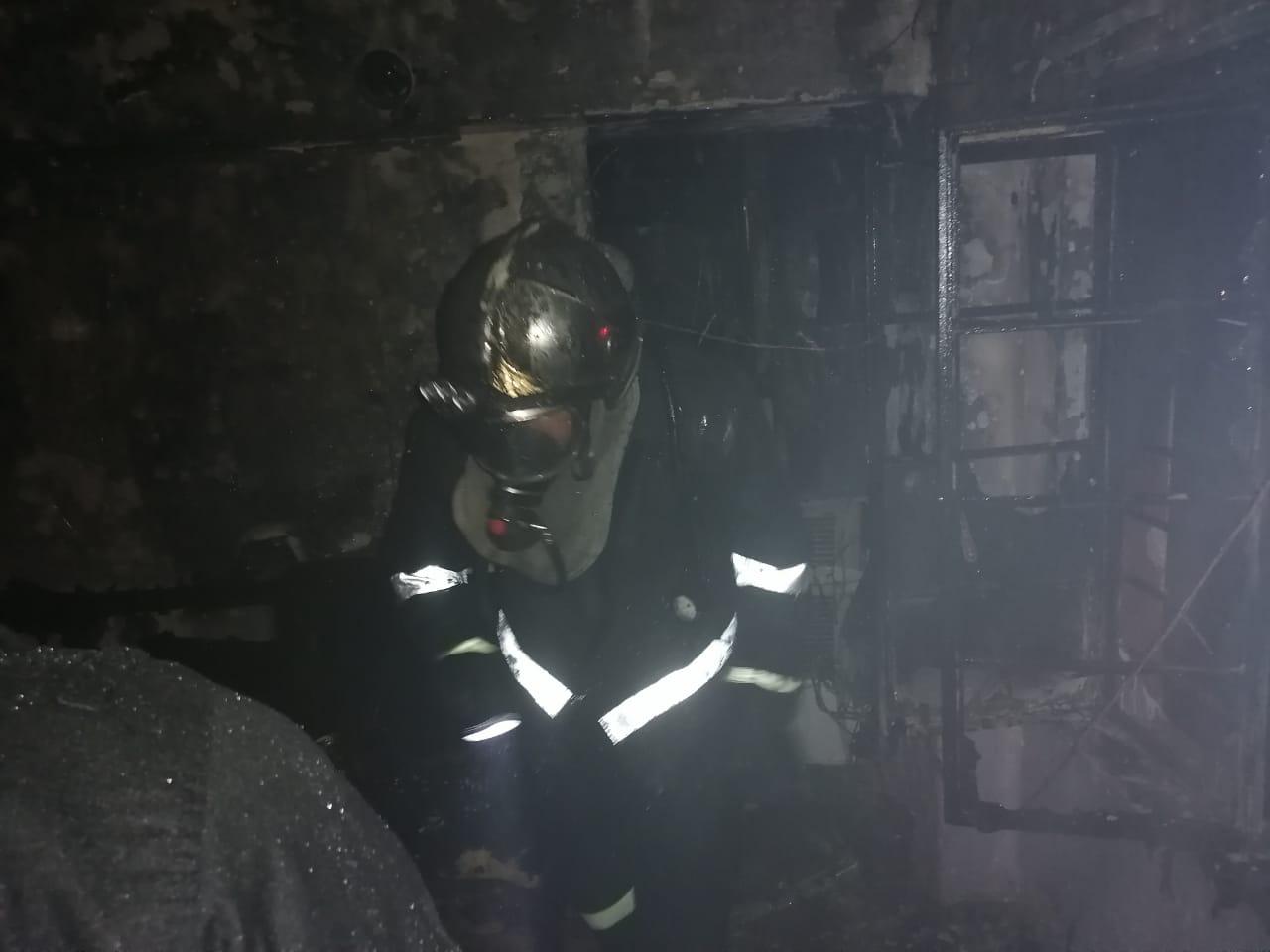 إخلاء العشرات بسبب حريق اندلع في الشورجة ببغداد