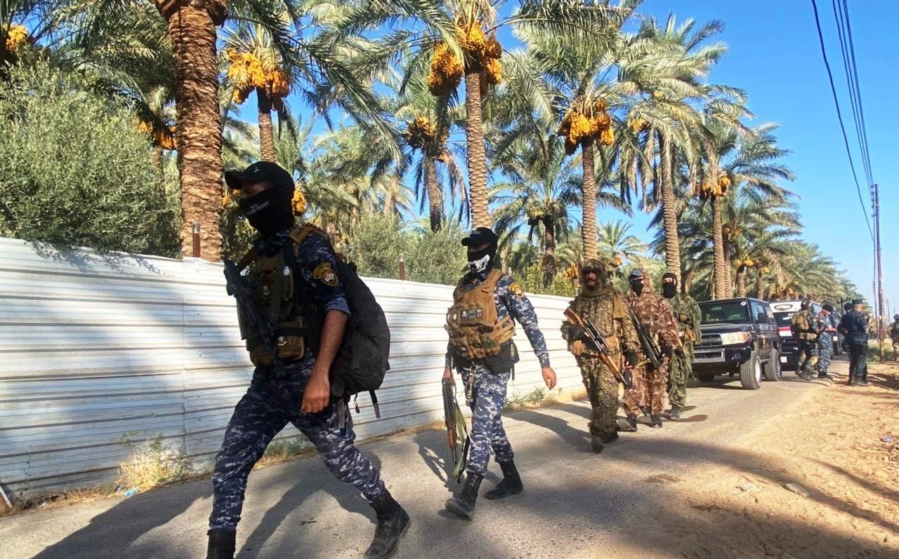 مسلحون عشائريون يهاجمون منزل ضابط رفيع جنوبي العراق
