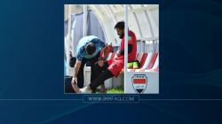 """إصابة مفاجئة قد تبعد """"ثاني حارس مرمى"""" عن تشكيلة المنتخب العراقي"""