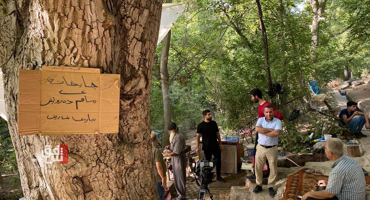 في مكان غير متوقع.. مجالس للعراقيين والإيرانيين لاحتساء الشاي