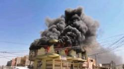 لأسباب مجهولة.. حريق يلتهم مقهى شبابيا في بعقوبة