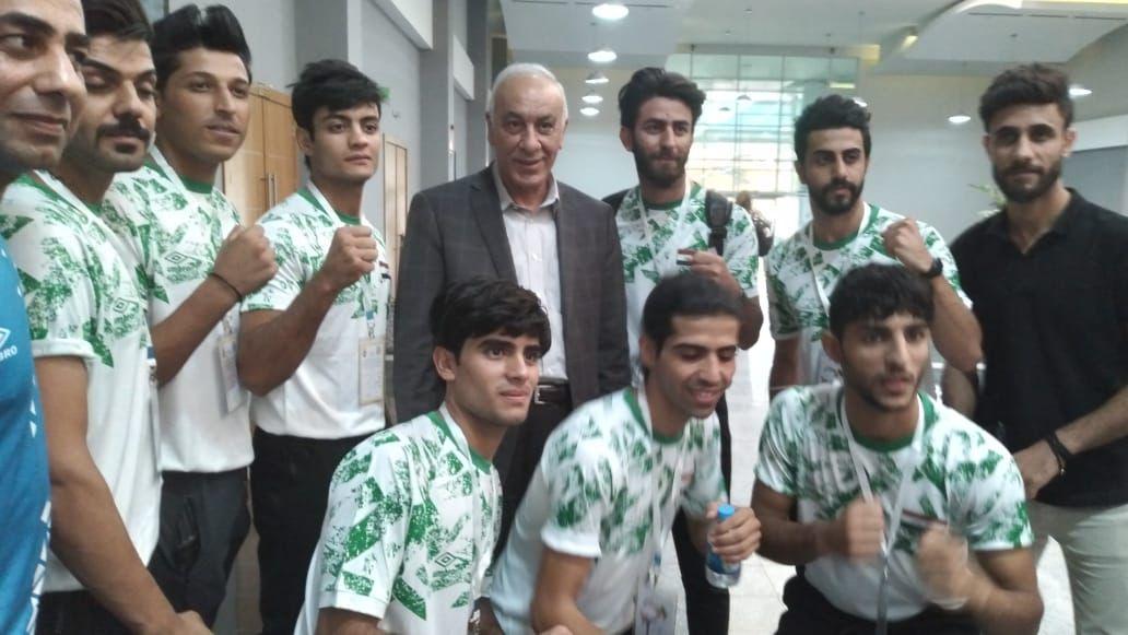انطلاق بطولة العرب للكيك بوكسنغ في إقليم كوردستان