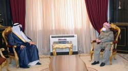 Masoud Barzani meets al-Yawar