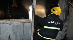 Fire broke out in a factory in Baghdad