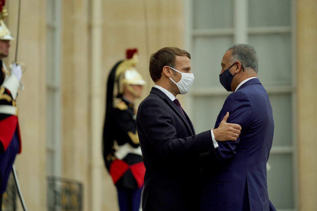 Macron arrives in Iraq to participate in Baghdad Conference