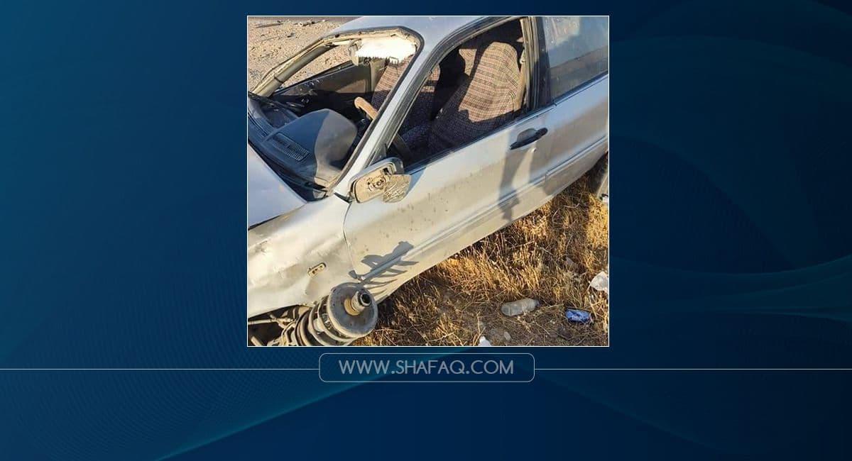 مصرع امرأة واصابة شخص اخر بحادث سير في ديالى