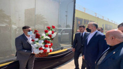 عبد اللهيان يزور موقع اغتيال سليماني والمهندس فور وصوله بغداد