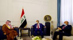 الوفد السعودي يؤكد للكاظمي دعمه مؤتمر بغداد لاستقرار المنطقة