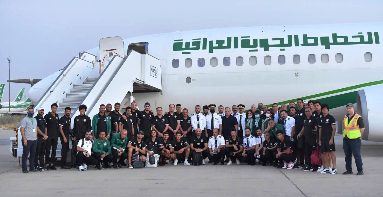 المنتخب العراقي يطير الى سيئول لملاقاة نظيره الكوري الجنوبي