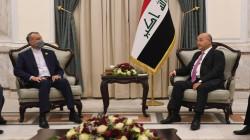 الرئيس العراقي يتسلم دعوة رسمية لزيارة إيران