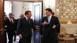 صور.. اجتماع الرئاسات الكوردية مع الرئيس الفرنسي
