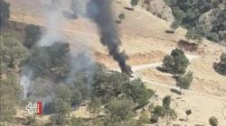 قصف تركي يستهدف مركبة لحزب العمال في جبل قنديل