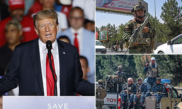 Trump calls for another invasion of Afghanistan