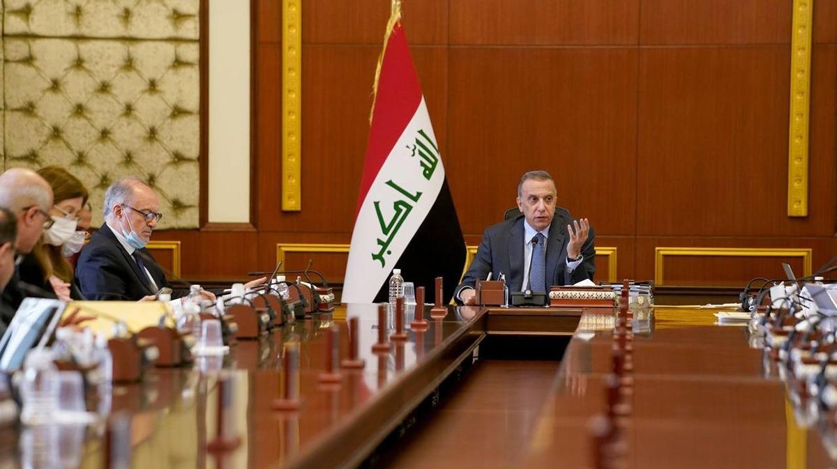 Al-Kadhimi calls for preserving the oil resources 1630413525853