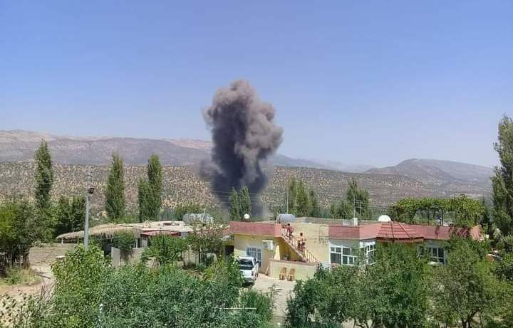 Two injured in Turkish bombardment in Duhok