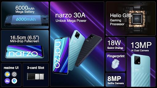 realme narzo 30A يحقق رقماً قياسياً للمبيعات