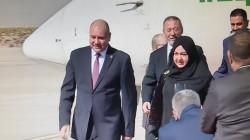 The Speaker of the Jordanian Parliament arrives in Erbil