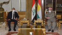 Masoud Barzani hosts the CHP delegation visiting the Kurdistan Region