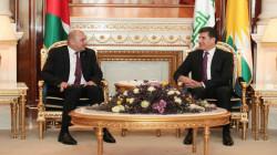President Barzani hosts jordan's Parliament Speaker