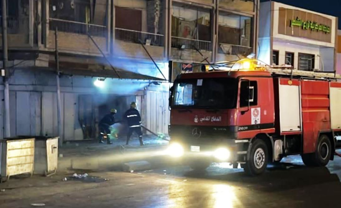 Explosion targets a liquor store in Baghdad