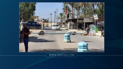 Protestors block Abbara-Baquba road for the second day in a row