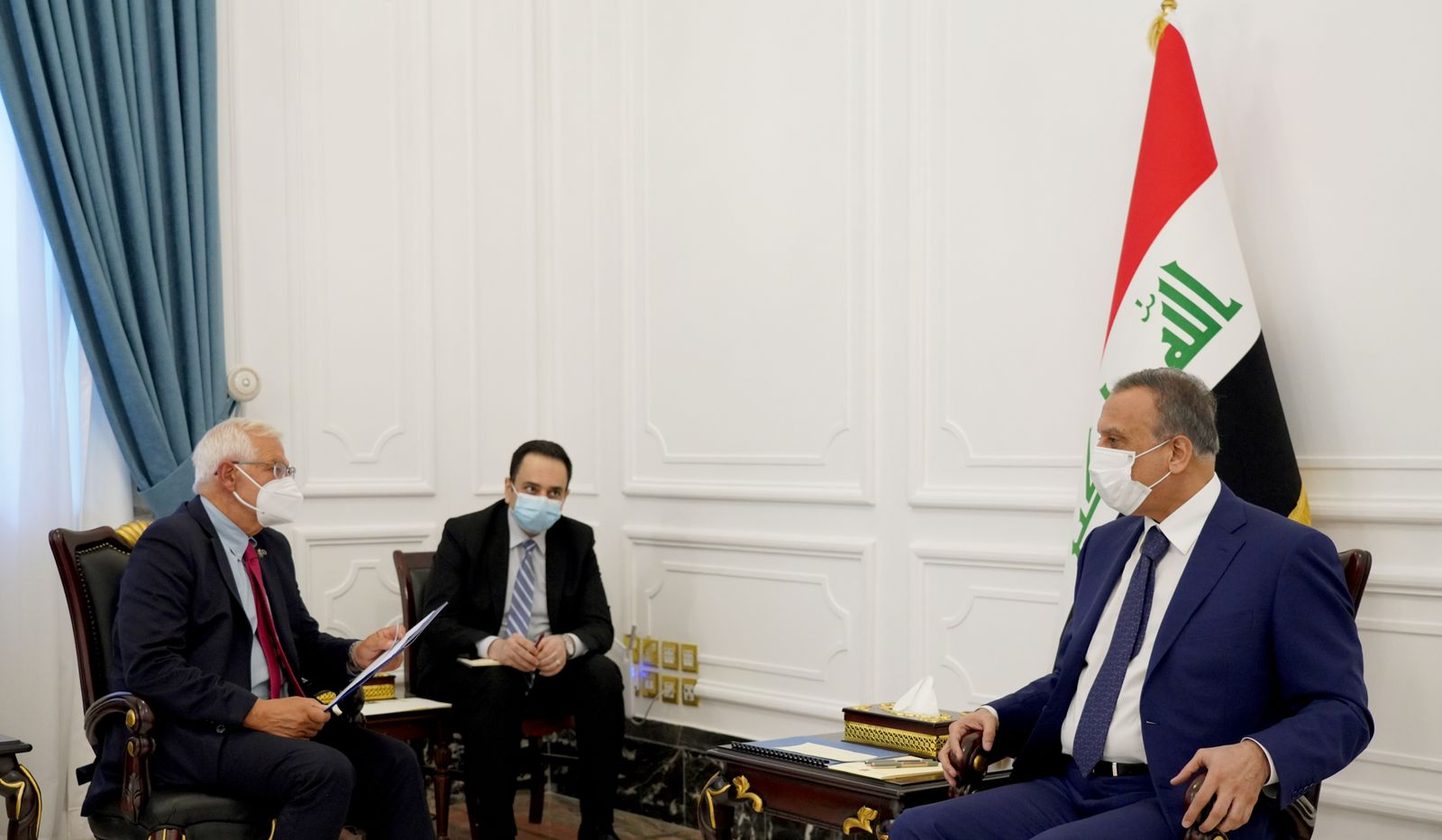 The European Union confirms its support for the Iraqi elections