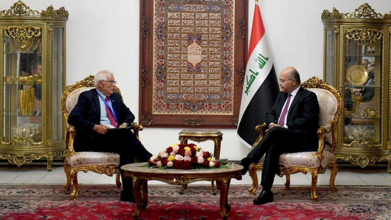 Iraq's President praises the EU's support to Iraq during the past years 1630954445944