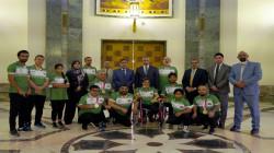 """الكاظمي يعد بعثة العراق المشاركة في بارالمبياد طوكيو بـ""""تقدير عالٍ"""""""