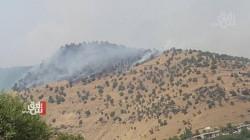 المدفعية الإيرانية تدك مناطق شمالي أربيل