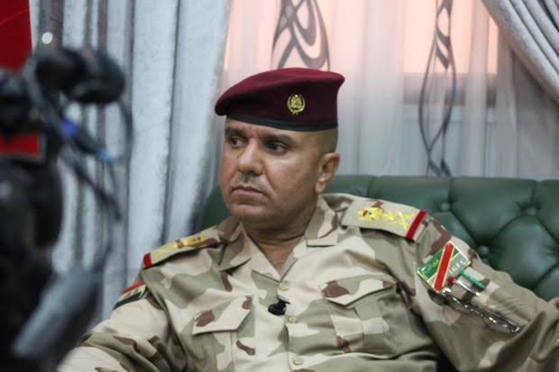 Lieutenant-General Abdul Amir Al-Shammari arrives in Erbil
