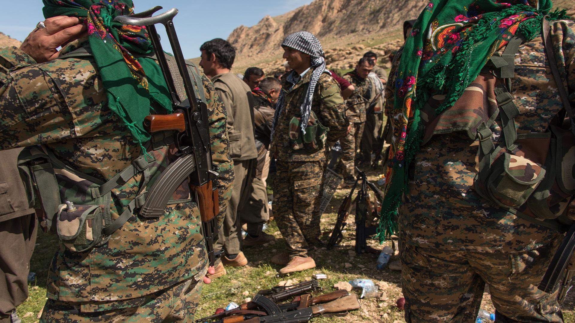 سنجار.. قوات كوردية تصادر بطاقات الناخبين بقوة السلاح