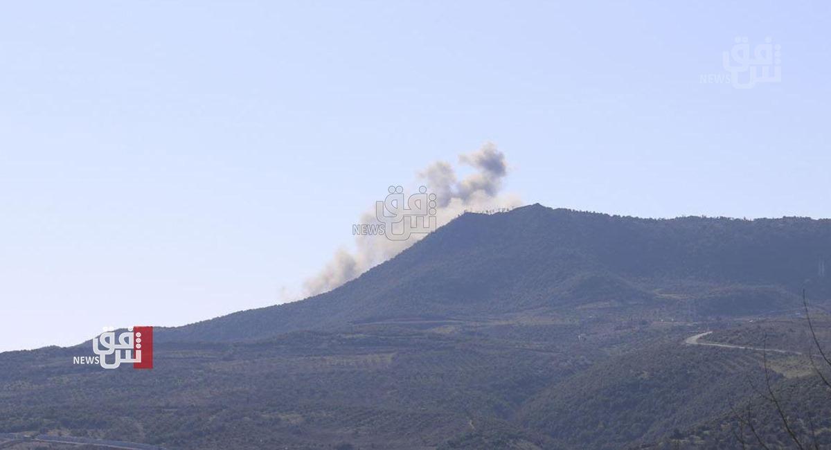 Iran intensified its artillery shells north of Erbil
