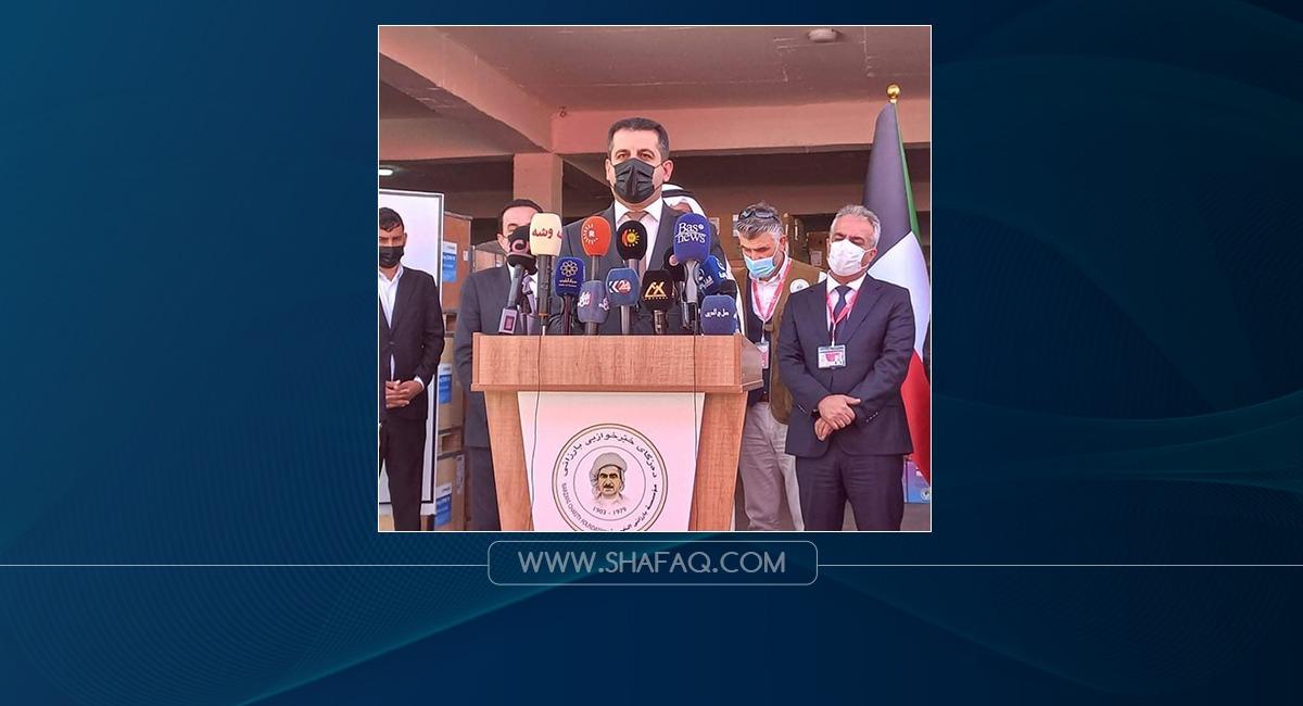 الكويت تقدم مساعدات طبية تُقدر بمليون يورو إلى إقليم كوردستان