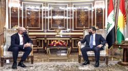 PM Masrour Barzani meets the British Consul General in the Kurdistan Region