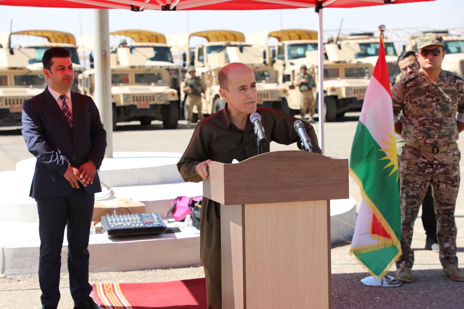 وزير پێشمەرگە: پەیوەندیەیلمان وەرد سوپای عراق خاسەو بۊینە