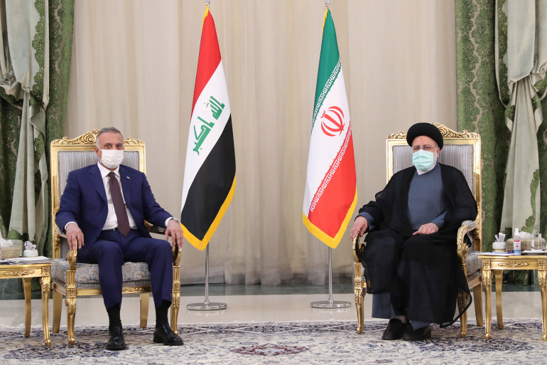 Al-Kazemi releases a pledge to the Iranian president regarding the financial commitment and the Shatt Al-Arab Kari