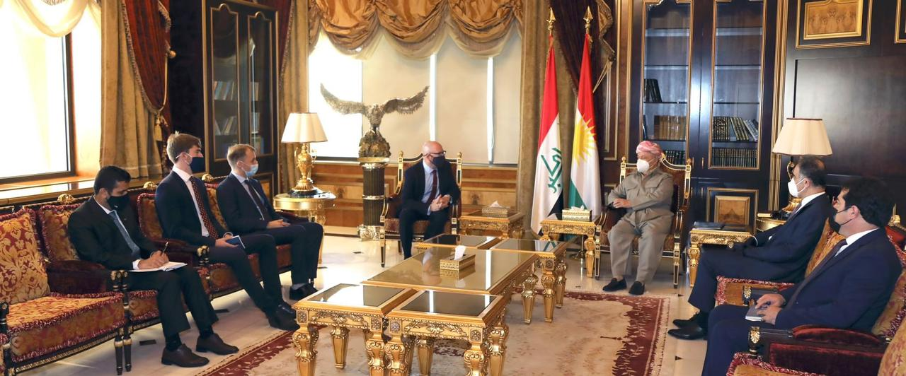 ISIS and the Elections on the table of the KDP leader and Britain's Consul to Erbil