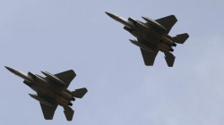 Coalition airforces attack an ISIS site in Nineveh